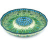 10-inch Stoneware Chip and Dip Platter - Polmedia Polish Pottery H4980G