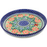 10-inch Stoneware Cookie Platter - Polmedia Polish Pottery H2670L