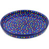 10-inch Stoneware Cookie Platter - Polmedia Polish Pottery H3138L