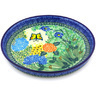 10-inch Stoneware Cookie Platter - Polmedia Polish Pottery H4752G