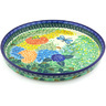 10-inch Stoneware Cookie Platter - Polmedia Polish Pottery H5061G