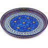 10-inch Stoneware Cookie Platter - Polmedia Polish Pottery H6141G