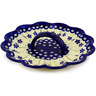 10-inch Stoneware Egg Plate - Polmedia Polish Pottery H0558D