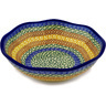 10-inch Stoneware Fluted Bowl - Polmedia Polish Pottery H0077D