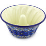 10-inch Stoneware Fluted Cake Pan - Polmedia Polish Pottery H3488G