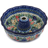 10-inch Stoneware Fluted Cake Pan - Polmedia Polish Pottery H5046K