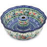 10-inch Stoneware Fluted Cake Pan - Polmedia Polish Pottery H5048K