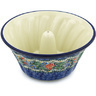 10-inch Stoneware Fluted Cake Pan - Polmedia Polish Pottery H7928G