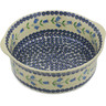 10-inch Stoneware Round Baker with Handles - Polmedia Polish Pottery H2721K
