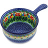 10-inch Stoneware Round Baker with Handles - Polmedia Polish Pottery H3970K
