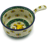 10-inch Stoneware Round Baker with Handles - Polmedia Polish Pottery H3984K