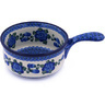 10-inch Stoneware Round Baker with Handles - Polmedia Polish Pottery H9312G