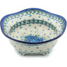10-inch Stoneware Scalloped Bowl - Polmedia Polish Pottery H0869I