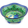 10-inch Stoneware Scalloped Bowl - Polmedia Polish Pottery H3487G