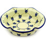 10-inch Stoneware Scalloped Bowl - Polmedia Polish Pottery H4223D