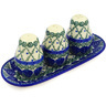 10-inch Stoneware Seasoning Set - Polmedia Polish Pottery H1179B