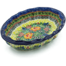 10-inch Stoneware Serving Bowl - Polmedia Polish Pottery H9362I
