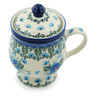 10 oz Stoneware Brewing Mug - Polmedia Polish Pottery H0693I