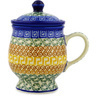 10 oz Stoneware Brewing Mug - Polmedia Polish Pottery H1582D