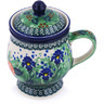 10 oz Stoneware Brewing Mug - Polmedia Polish Pottery H5574G