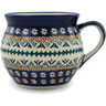 10 oz Stoneware Bubble Mug - Polmedia Polish Pottery H0905A
