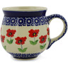 10 oz Stoneware Bubble Mug - Polmedia Polish Pottery H2284K