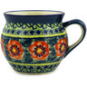 10 oz Stoneware Bubble Mug - Polmedia Polish Pottery H5122E