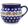 10 oz Stoneware Bubble Mug - Polmedia Polish Pottery H8864B