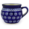 10 oz Stoneware Bubble Mug - Polmedia Polish Pottery H9305D