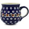 10 oz Stoneware Bubble Mug - Polmedia Polish Pottery H9362J
