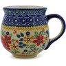 10 oz Stoneware Bubble Mug - Polmedia Polish Pottery H9620J