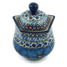 10 oz Stoneware Sugar Bowl - Polmedia Polish Pottery H2951C