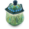 10 oz Stoneware Sugar Bowl - Polmedia Polish Pottery H5031G