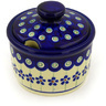 10 oz Stoneware Sugar Bowl - Polmedia Polish Pottery H5980D
