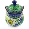 10 oz Stoneware Sugar Bowl - Polmedia Polish Pottery H6924G
