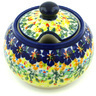 10 oz Stoneware Sugar Bowl - Polmedia Polish Pottery H8520H