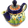10 oz Stoneware Tea or Coffee Pot - Polmedia Polish Pottery H0232E