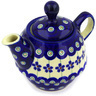 10 oz Stoneware Tea or Coffee Pot - Polmedia Polish Pottery H0234E