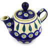 10 oz Stoneware Tea or Coffee Pot - Polmedia Polish Pottery H0238E