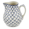 101 oz Stoneware Pitcher - Polmedia Polish Pottery H8709K