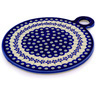 11-inch Stoneware Cutting Board - Polmedia Polish Pottery H0538D