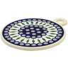 11-inch Stoneware Cutting Board - Polmedia Polish Pottery H5206C