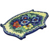 11-inch Stoneware Cutting Board - Polmedia Polish Pottery H7559C