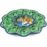11-inch Stoneware Egg Plate - Polmedia Polish Pottery H6650D