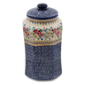 11-inch Stoneware Jar with Lid - Polmedia Polish Pottery H6569K