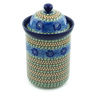 11-inch Stoneware Jar with Lid - Polmedia Polish Pottery H7731B