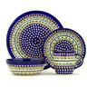 11-inch Stoneware Place Setting - Polmedia Polish Pottery H7617D