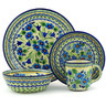 11-inch Stoneware Place Setting - Polmedia Polish Pottery H7618D