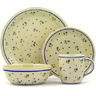 11-inch Stoneware Place Setting - Polmedia Polish Pottery H7619D