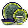 11-inch Stoneware Place Setting - Polmedia Polish Pottery H7622D